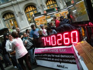 Photographs:  Occupy Wall Street & Times Square October 15th